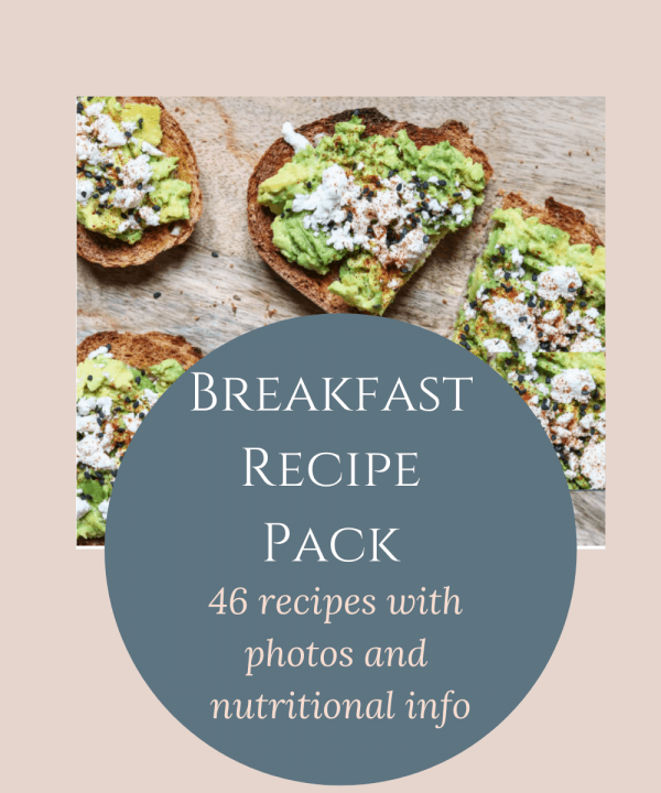 Breakfast Recipe Pack