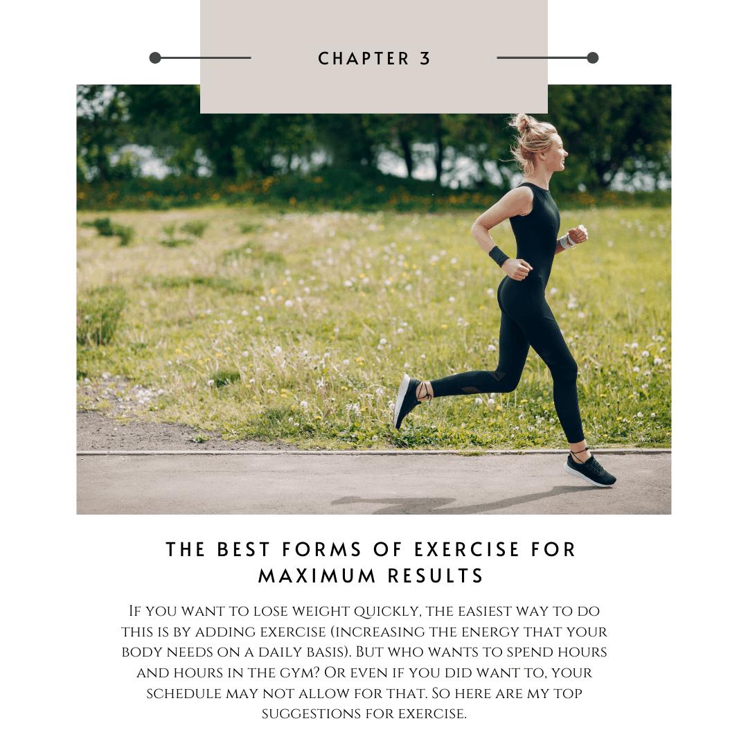Metabolic reset program for women