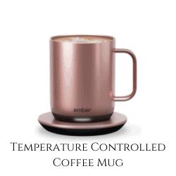 rose gold coffee mug temperature controlled