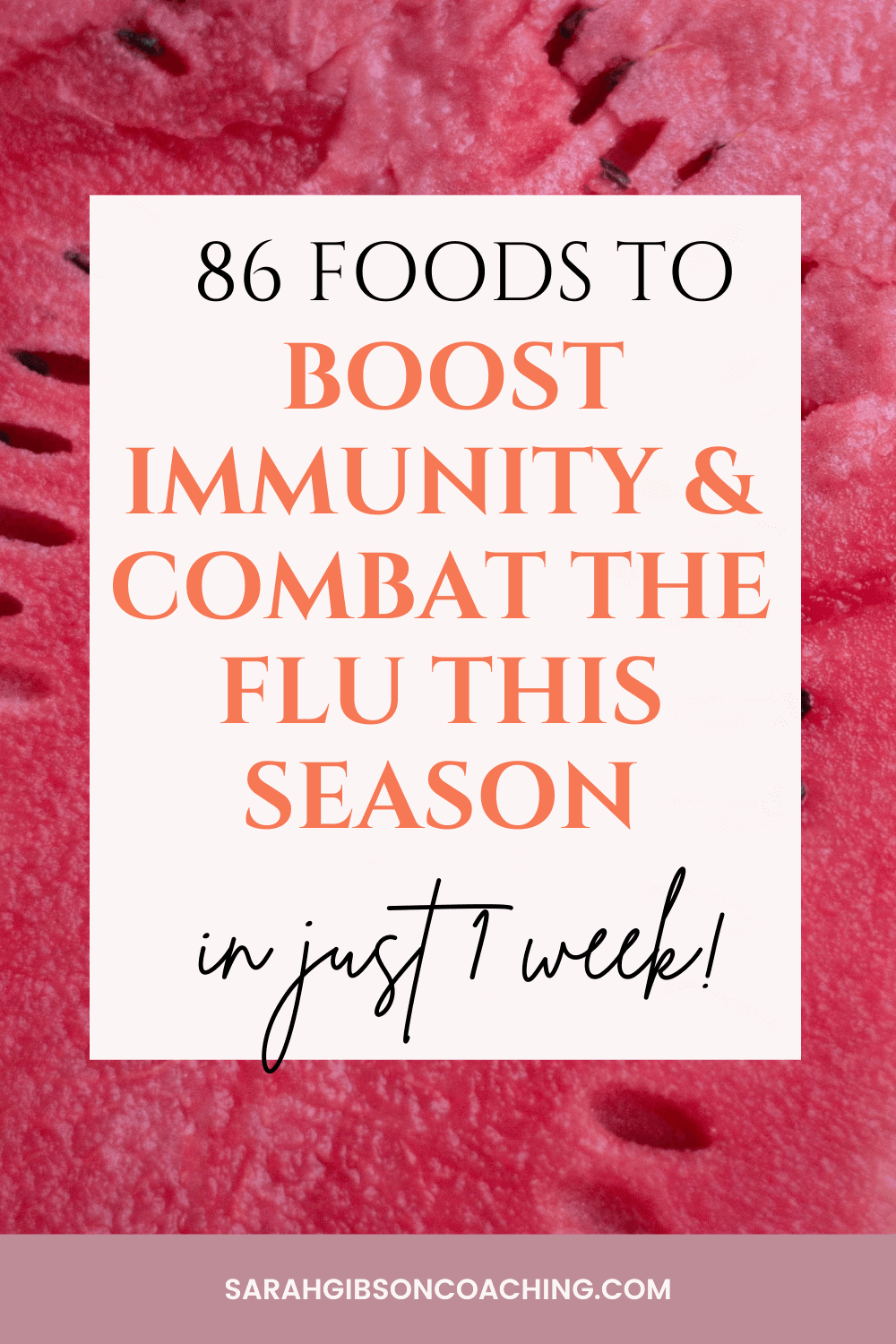boost immunity with food